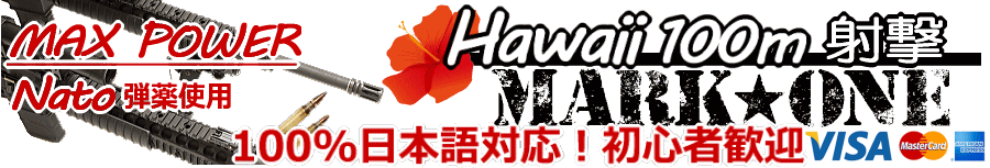 2018年ハワイで屋外射撃/マークワン